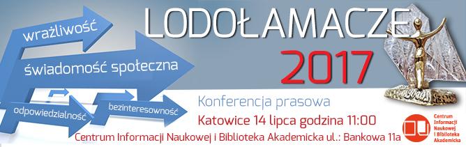 Konferencja prasowa Lodołamacze 2017 - Katowice 14 lipca