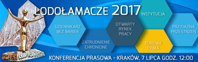 Konferencja prasowa Lodołamacze 2017 - Kraków 7 lipca