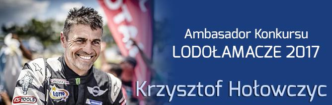 Krzysztof Hołowczyc Ambasadorem Konkursu Lodołamacze 2017
