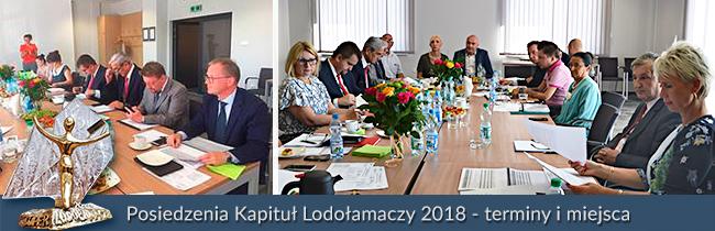 Posiedzenia Kapituł Lodołamaczy 2018 - terminy i miejsca