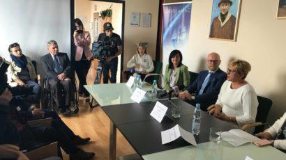 Konferencja prasowa Lodołamacze 2019 w Krakowie