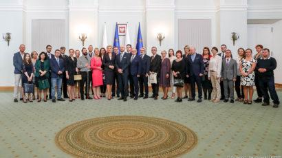 Prezydent.pl: Laureaci konkursu Lodołamacze na spotkaniu z Pierwszą Damą