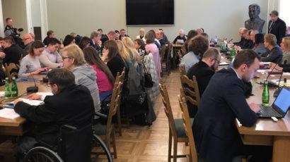 POPON na posiedzeniu Komisji Polityki Społecznej i Rodziny – 27.02.2018 r.