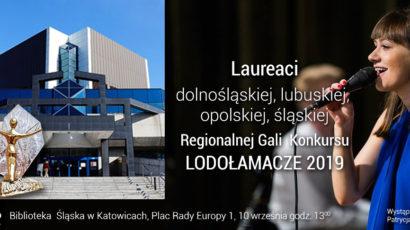Laureaci Regionalnej Gali XIV Edycji Konkursu LODOŁAMACZE 2019 – Katowice