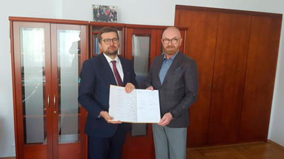 Jan Zając Prezes POPON podpisał Partnerstwo na rzecz Dostępności