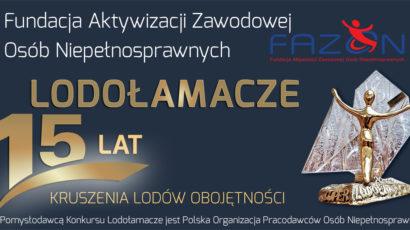 Start 15 edycji Kampanii Społecznej Lodołamacze 2020