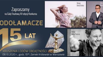 Serdecznie zapraszamy na Galę Finałową Konkursu LODOŁAMACZE 2020, Zamek Królewski w Warszawie, 08.10.2020 r.,godz. 15:00