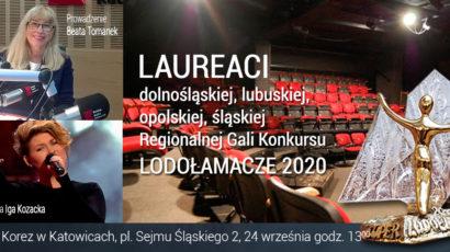 Laureaci dolnośląskiej, lubuskiej, opolskiej, śląskiej Regionalnej Gali XV Edycji Konkursu LODOŁAMACZE 2020