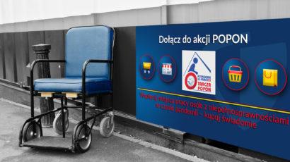 """Wspierajmy pracodawców zatrudniających osoby niepełnosprawne – Akcja POPON """"Potrzebni w pracy"""" w Radiu EM"""