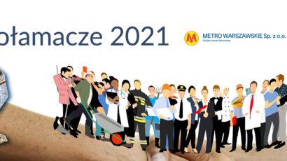 Metro Warszawskie: Metro Warszawskie wyróżnione podczas Regionalnej Gali 16 edycji konkursu Lodołamacze 2021